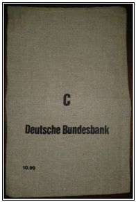 Acq_2014/78. Sac en toile de la Deutsche Bundesbank